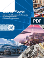 GE Gas LNG to Power White Paper 2015