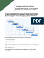 Software Development Models