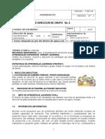 Guía de Dirección de Grupo - Campaña en Pro Del Ahorro de Agua y Luz
