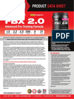 Best Pre Workout Supplement Drink 2016 for Men & Women is FBX 2.0 by Max Muscle Sports Nutrition
