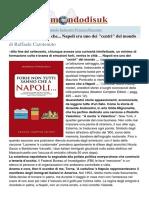 """Napoli era (ed è) uno dei """"centri"""" del mondo"""