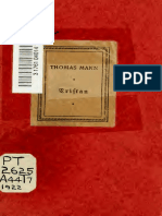 Tristan Novel- Thomas Mann