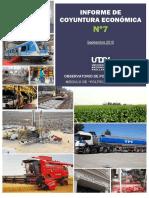 Informe Coyuntura Econ Setiembre 2015