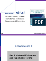 Econometrics I 8
