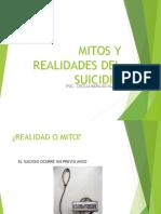 Mitos y Realidades Del Suicidio