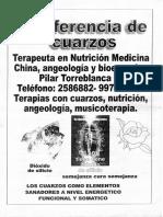 Conferencia de Cuarzos