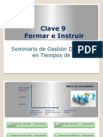 Clave 9 - Formar e Instruir