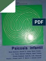 Psicosis Infantil [M. Mannoni, R. Laing, D. Cooper, J.-l. Faure, E. Ortigues, R. Tostain, G. Raimbault]