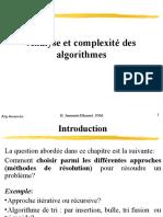 algorithme avancé