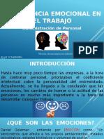 Inteligencia Emocional en El Trabajo Disertación