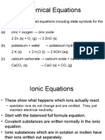 Equations and Moles