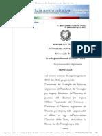 ALTAVILLA MILICIA 2016 SCIOGLIMENTO CONSIGLIO COMUNALE SENTENZA 197 2015 RESPINTO RICORSO SENTENZA 9863 2015 ACCOLTO RICORSO CONTRO LO SCIOGLIMENTO