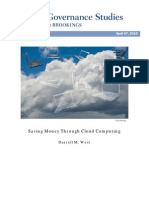 Saving Money Through Cloud Computing
