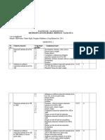 Planificare Calendaristica MEM