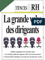 Competences Rh - La Grande Valse Des Dirigeants