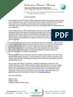 kyara walker - common app letter of recommendation