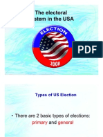 The Electoral System in the USA