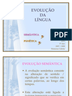 evolucaofonetica