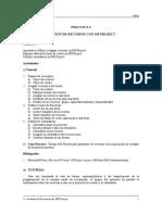 PGSI-p3, Practicando MS Project 2013,2010,2016