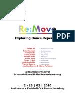 ReMove Dance Festival - Press File Kaaitheater