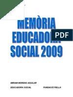 memòria educació social2009