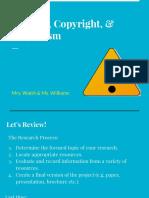 juniors hc plagiarism citation presentation