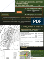 Evolución Geodinámica de La Cordillera Occidental Vallejo 2007