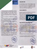 Requisitos-Reglamento de Seguridad y Salud