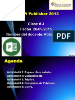 Clase 3 Publisher2013