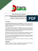 Lista de candidatos electos para congresistas por La Libertad, Lambayeque y Loreto
