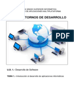 UD01 T01 1 Introduccion Al Desarrollo de Software