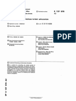 Mobile Oil Europen patent 0137578A2