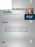 290047871 Target Audience Profile