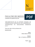 2015 Producto SGI_TESIS Informe de Tesis