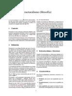 Estructuralismo (Filosofía) WES