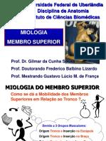 Aula 6 - Miologia Membro Superior-fred-gilmar-gustavo