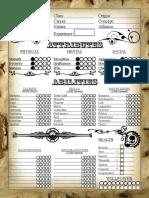 WW Character Sheet