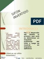 Diseño de Sifon Invertido