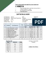 Nilai Smt Gsl 1516 PBO