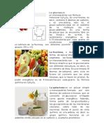 Biologia Glucosa y Alimentos 2