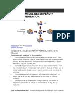 Evaluacion y Retroalimentacion