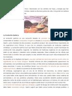 Evolución Física, Química y Biológica