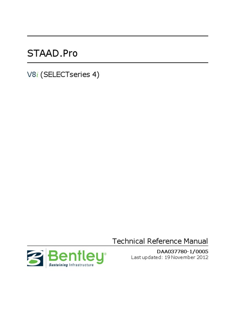 staad pro v8i manual 2016 cartesian coordinate system coordinate