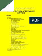 A Brief History of Feedback Control - Lewis