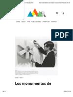 Los monumentos de Passaic de Robert Smithson | Martina Deren
