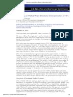 Testimony on Market Micro-Structure_ an Examination of ETFs