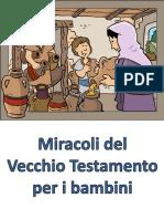 Miracoli Del Vecchio Testamento Per i Bambini