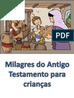 Milagres Do Antigo Testamento Para Crianças