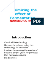 Effect of Fermentation