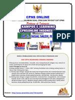 Soal Tes CPNS Bahasa Indonesia Disertai Pembahasan